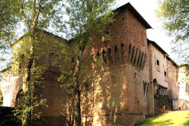 Cortile d'onore della Rocca Spilamberto (MO)