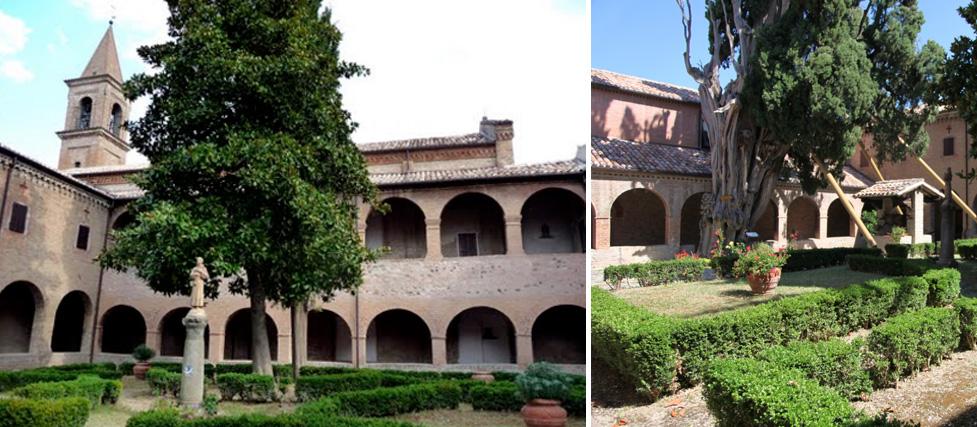 Chiostro del Convento dei Frati Minori – Villa Verucchio (RN)