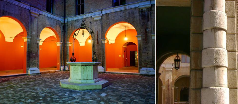 Chiostro della Biblioteca Gambalunga – Rimini (RN)