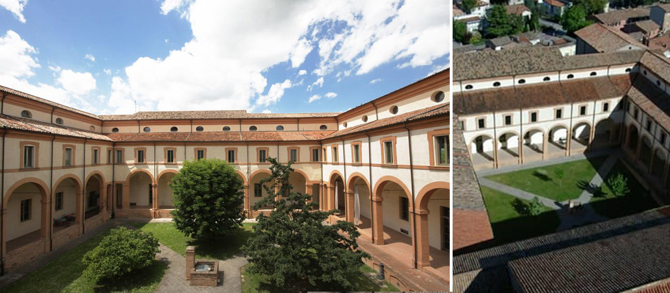 Chiostro ex Convento San Francesco Bagnacavallo (RA)