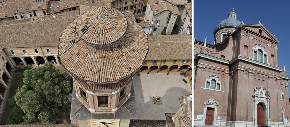 chiostro e chiesa della Ghiara – Reggio Emilia (RE)