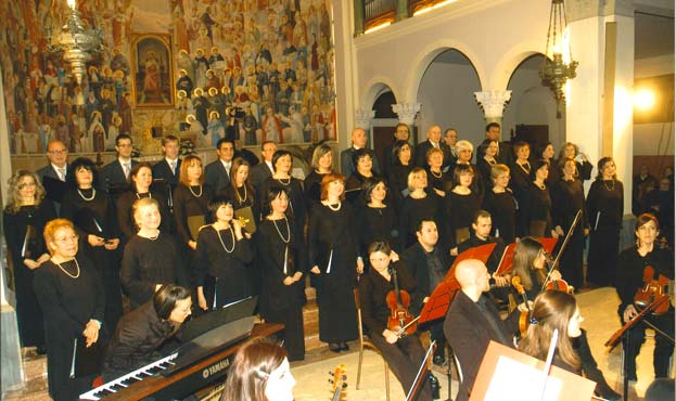 Coro polifonico citta di Riccione - MessaScubert-2009